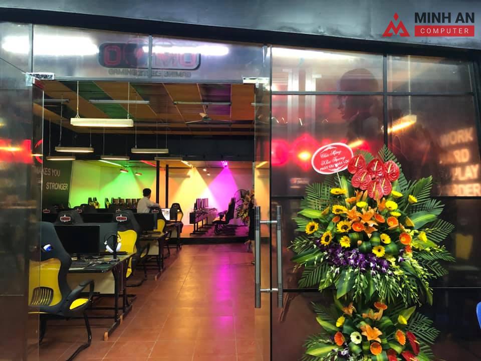Không gian bên ngoài tại Dự án Domo Gaming