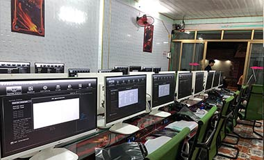 Lắp đặt phòng net mini tại Hải Phòng