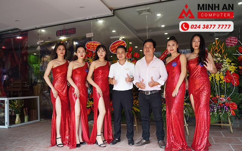 Dàn PG đến khai trương Cyber Game Domo 3 tại Từ Sơn
