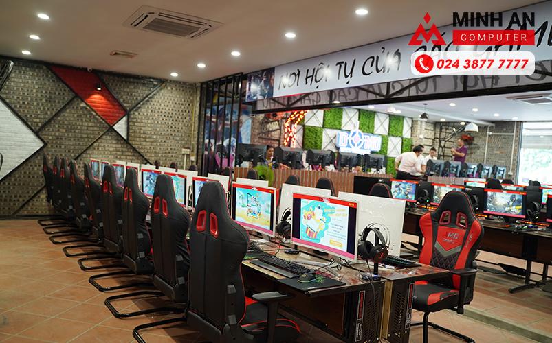 Không gian tuyệt đẹp của Cyber Game Domo 3 tại Từ Sơn