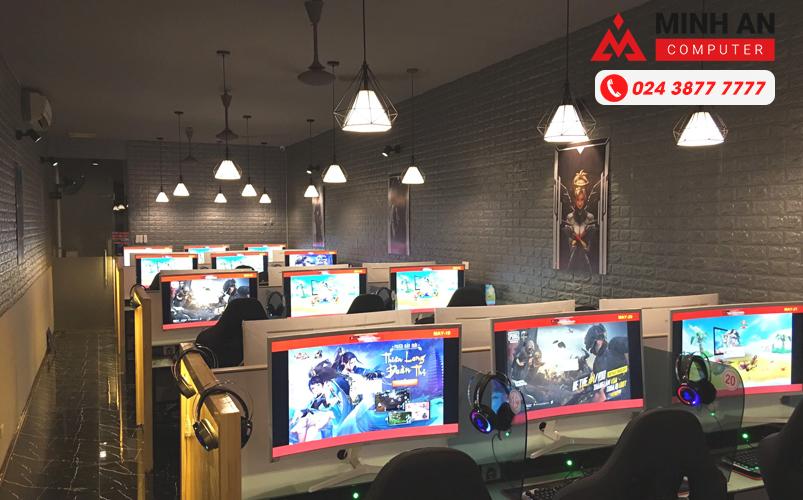 Trang trí phòng nét chuẩn Cyber Game