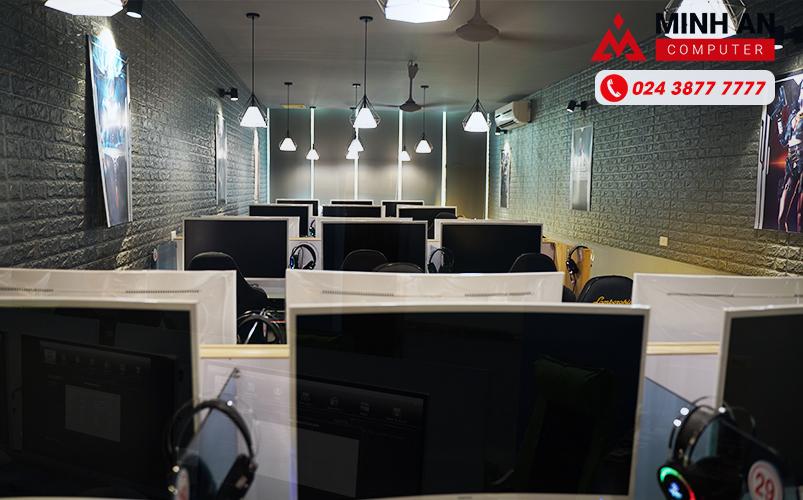 Đèn chiếu sáng Cyber Game Hàn Quốc