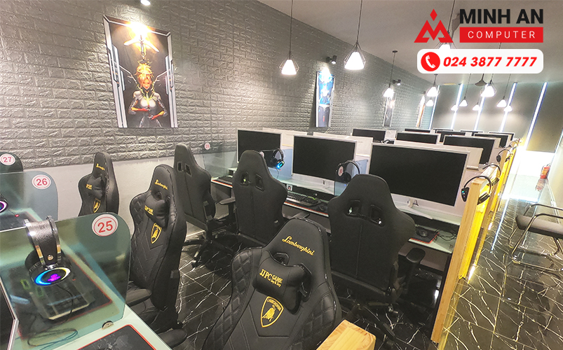 Bàn ghế và PC Cyber Game Hàn Quốc tại Mai Dịch,