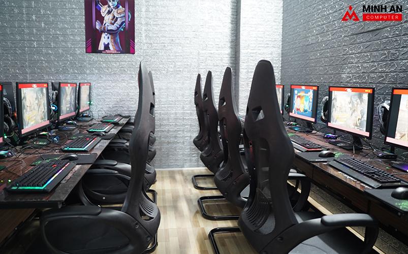 Eternity Gaming bố trí rộng rãi cho game thủ