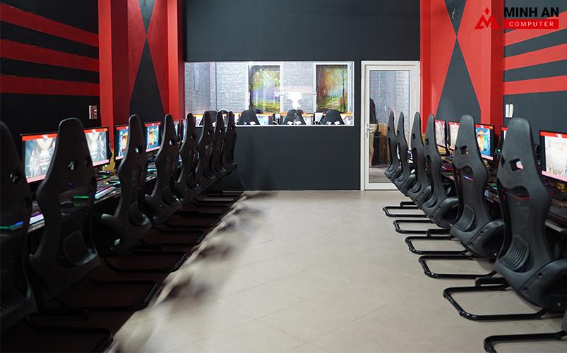 Khu thi đấu tại Eternity Gaming