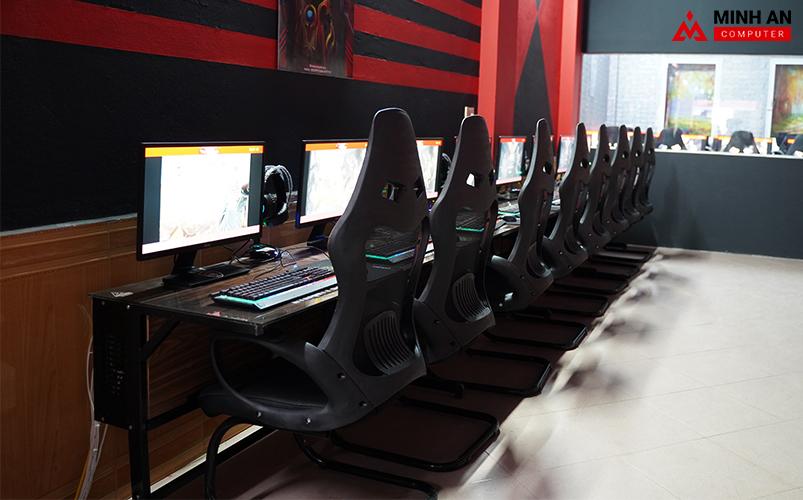 Dàn máy cầu hình khủng tại Eternity Gaming