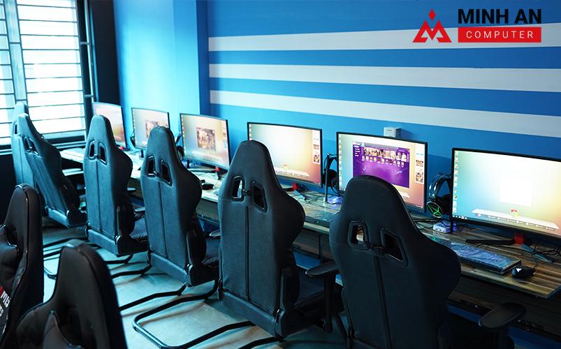 Dự án T&T Cyber Game với không gian chuyên nghiệp