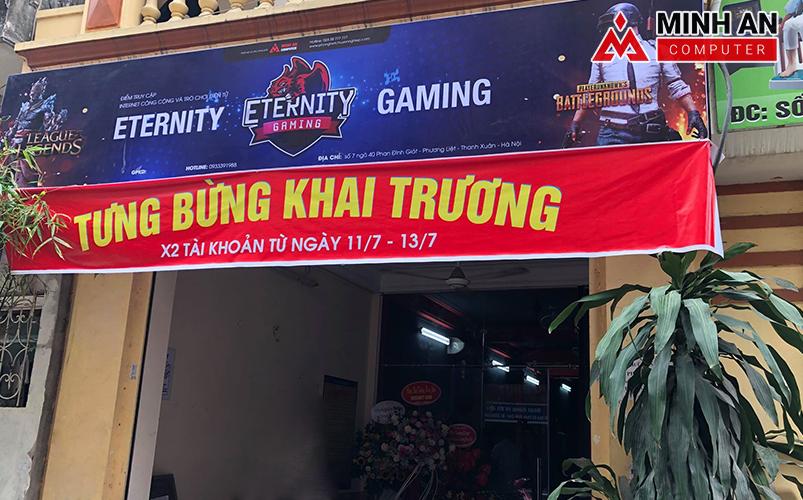 Khai trường phòng game Eternity Gaming