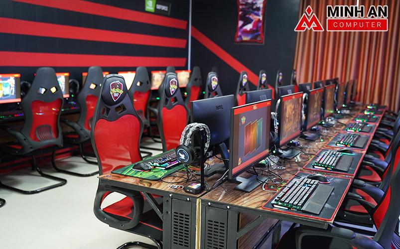 Dự án Cyber Game Icafe OLETER hoành thành tiến độ