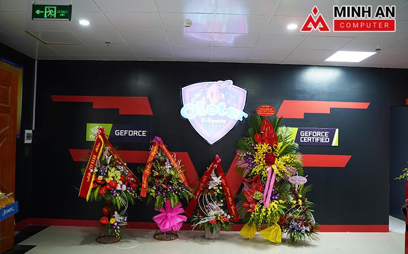 Hoa tươi tặng  Cyber Game Icafe OLETER mừng khai trương