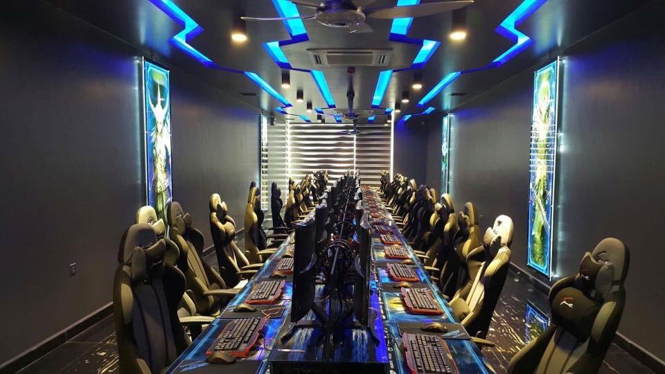 Trang trí phòng NET tại Minh An Computer