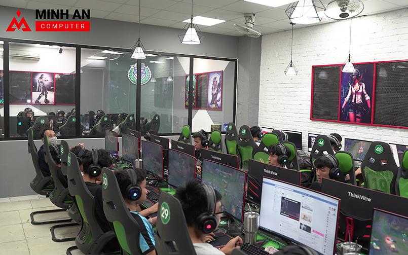 Diamond Gaming Center - Cyber Game trang trí siêu độc đáo tại Hoài Đức, Hà Nội