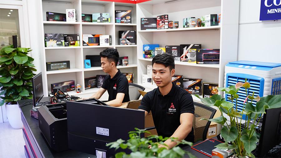 Đội ngũ nhân viên Minh An