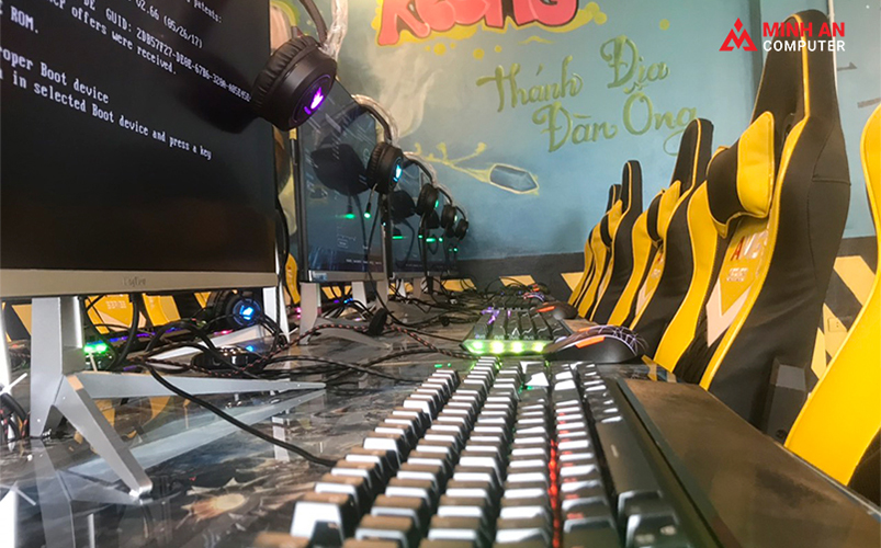 Dự án cyber game mini 55 máy tại Bắc Giang ảnh 3