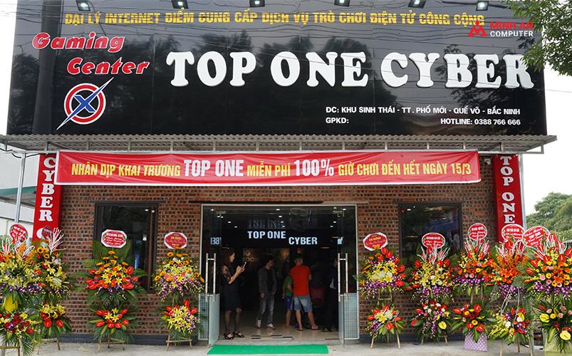 Top One Cyber - Cyber game 70 máy tại Quế Võ, Bắc Ninh ảnh 1