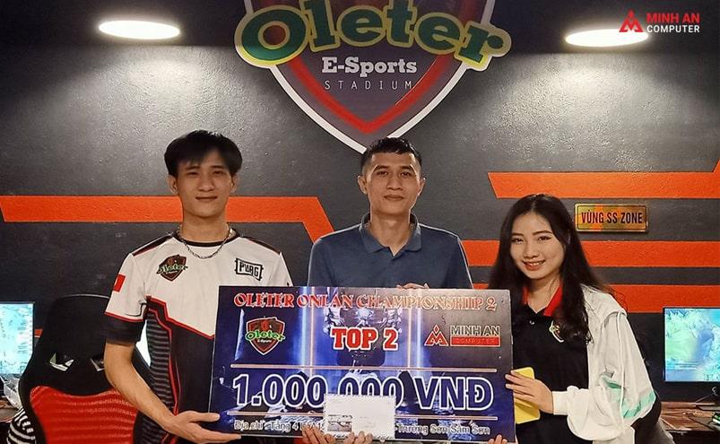 Minh An đồng hành tổ chức giải đấu Oleter E-Sport stadium