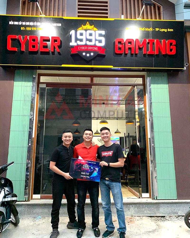 Giải đấu Liên Minh Huyền Thoại Lạng Sơn tại 1995 Cyber Gaming