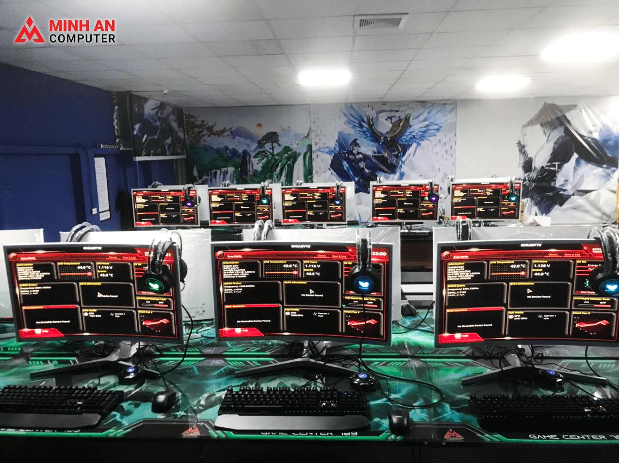 Dự án Cyber Game 40 máy tại Hà Nội