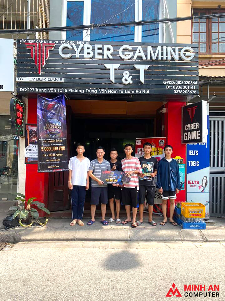 Giải đấu LMHT Cyber Game T&T
