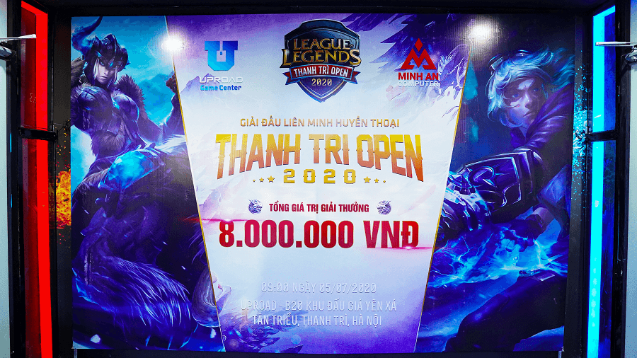 Tổ chức giải đấu LMHT Thanh Trì Open 2020