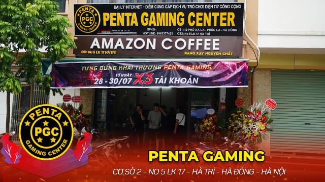Trải nghiệm Cyber Game 67 máy - Penta Gaming Center tại Hà Nội