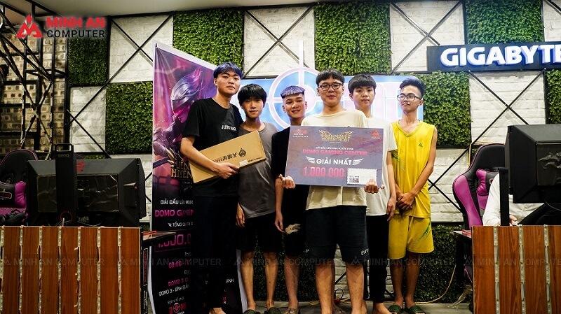 Minh An đồng hành cùng Giải đấu LMHT DOMO GAMING CENTER