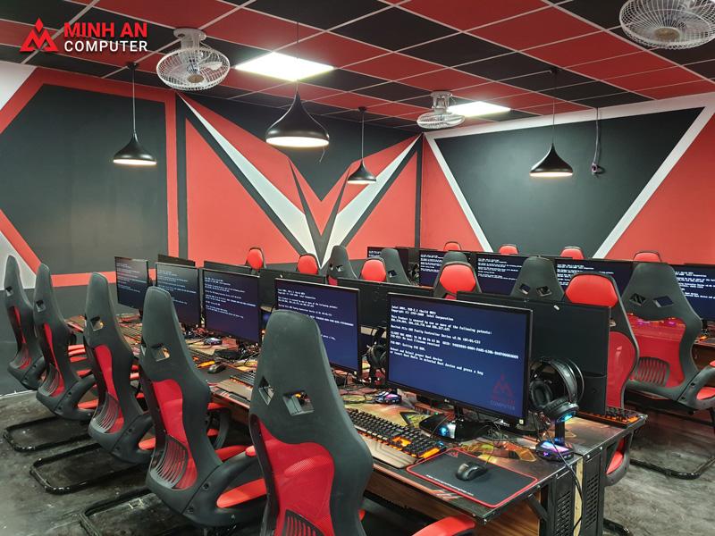 Thiết kế phòng game net