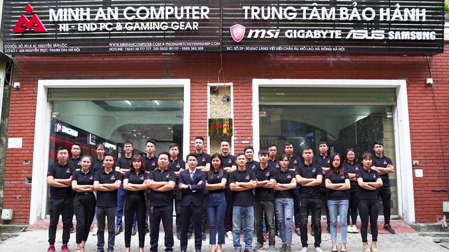 Đội ngũ nhân viên Minh An Computer