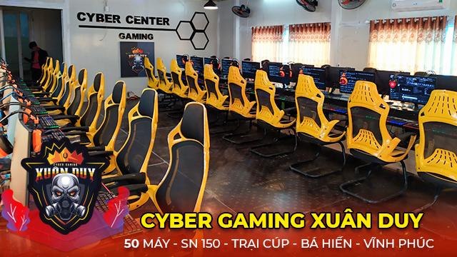 Dự án Cyber Game 50 máy - Cyber Gaming Xuân Duy tại Vĩnh Phúc