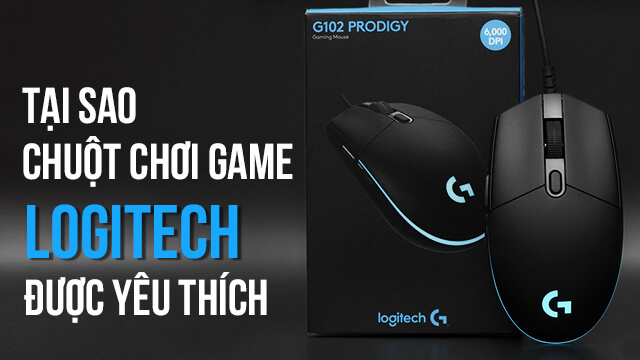 Chuột chơi game Logitech