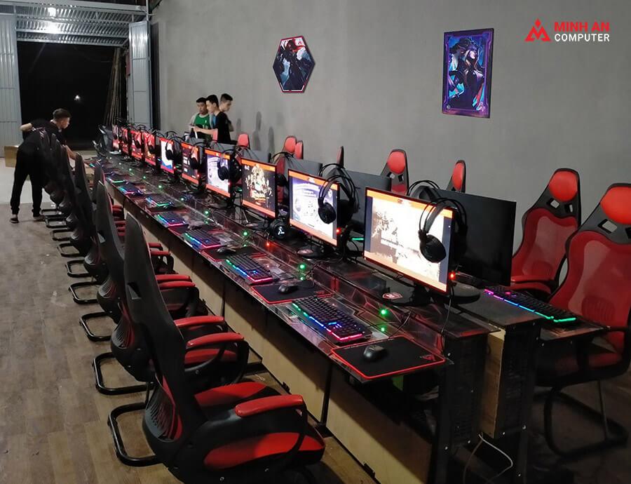 Lắp đặt phòng net tại Bắc Ninh