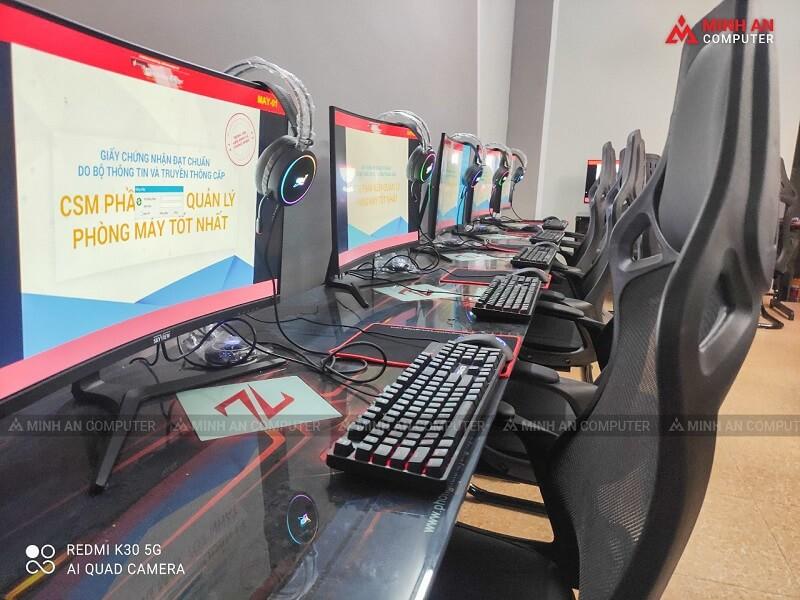 Lắp đặt phòng net tại Quảng Ninh