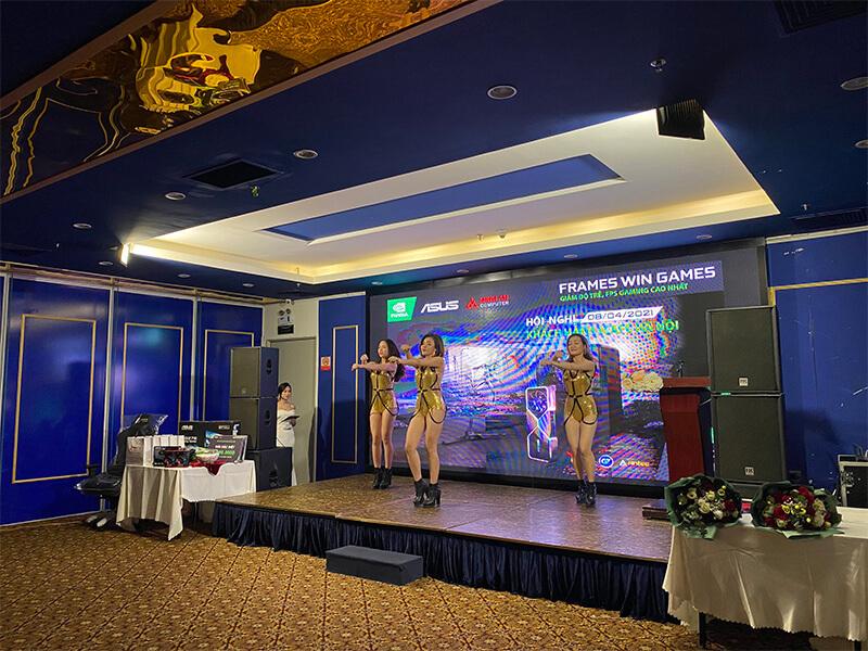 Minh An tổ chức hội nghị khác hàng icafe Hà Nội